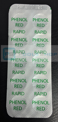 Таблетки Phenol Red - 10 шт.